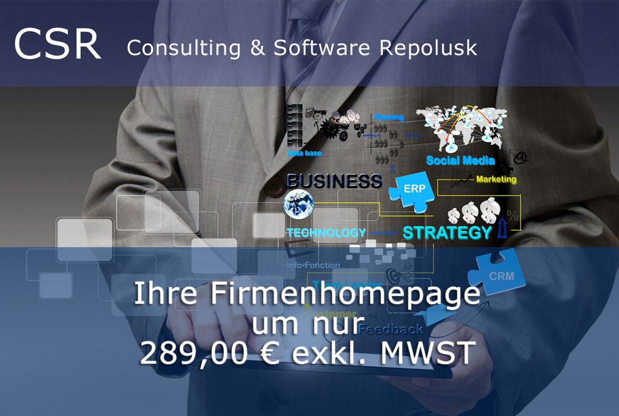 CSR-Homempage